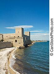 Castle of Trani. Puglia. Italy.