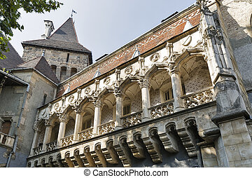Castle of Vajdahunyad in Budapest