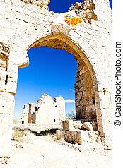 Castle of Villagarcia de Campos, Castile and Leon, Spain