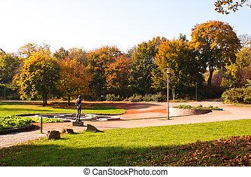 Castle Park in Chemnitz