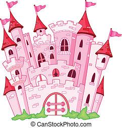 Castle - Pink princess castle