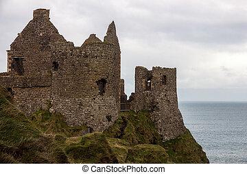 Castle ruin Northern Ireland