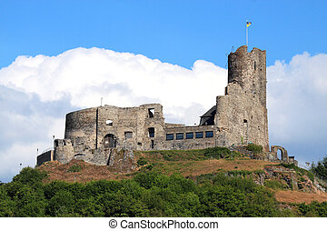 Castle ruins in Germany