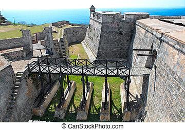 Castle San Pedro de la Roca del Morro near Santiago de Cuba,...