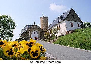 Castle Scharfenstein, Erzgebirge