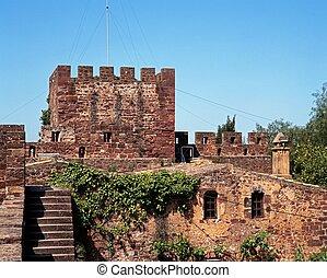 Castle, Silves, Portugal.
