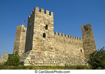 Castle - 15th century Ottoman castle in Turkey