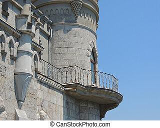 Castle swallow's nest.