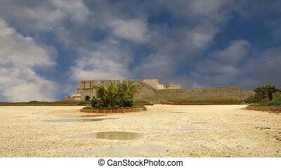 Castle Syracuse. Sicily, Italy. Frederick II Castle (Maniace...