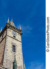 Castle Tower Against the Sky