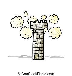 castle tower cartoon
