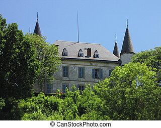 Castle, tower,