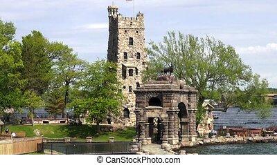 Castle Tower, Old Buildings, Mediev