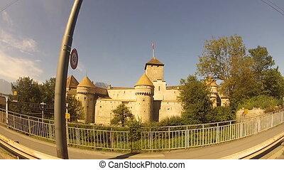 castle - travel along the Chillon Castle