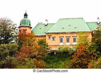 Castle Ujazdowski in Warsaw. Poland