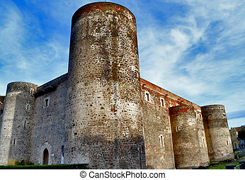 Castle Ursino of Catania, Sicily