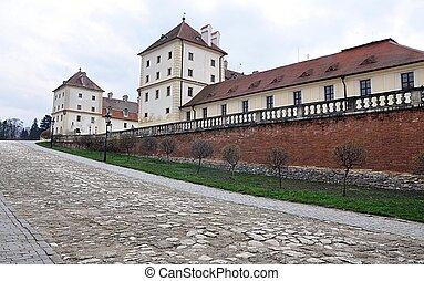 Castle Valtice, Czech Republic, Eur