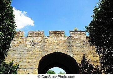 Castle Wall, Warwick.