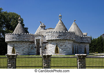 Castle with Turrets