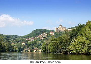 Castlenaud Chateau and Dordogne