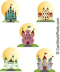 Castles Vector For Your Design
