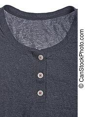 casual, algodão, camisa