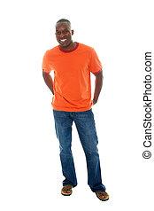 casual, homem, camisa, jeans2