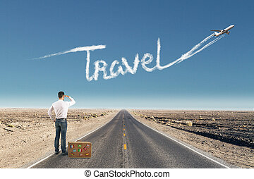 Traveling, transportation and vacation concept