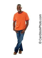 Casual Man Shirt Jeans 1