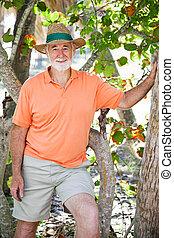 Casual Senior Man