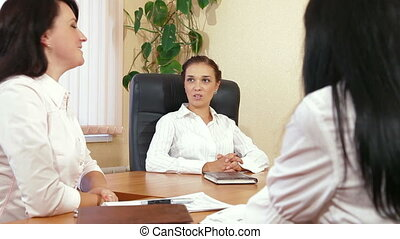 Casual team in a meeting