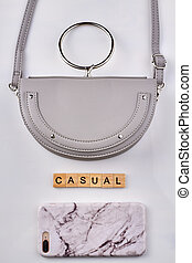 Casual womens accessories.
