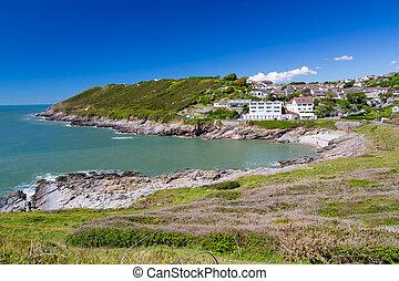 caswell, bahía, gales, reino unido, europa