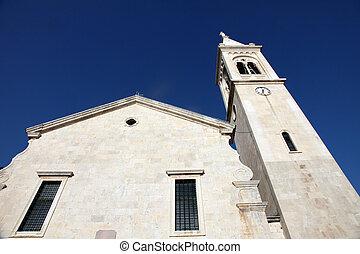 católico, eustache, montenegro, dobrota, santo, iglesia