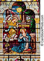 católico, sobre, francisco, aparecer, ella, ángel,...