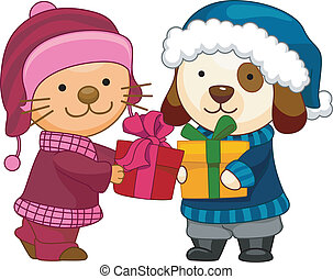 Exchange Gifts - Cat and Dog Exchange Gifts