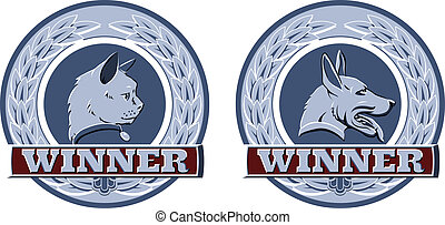 Cat and dog pet awards