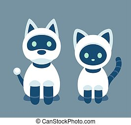 Cat and dog robot