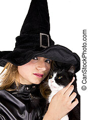cat and witch