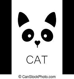 cat animal template