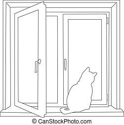 cat contour