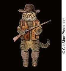 Cat cowboy 2