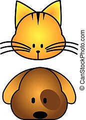 cat dog cartoon
