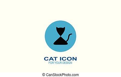 Cat icon,