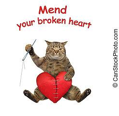 Cat mends broken heart 2