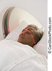 (cat), patiënt, scanderen, geautomatiseerde astomografie,...