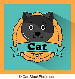 cat pet animal friendly banner