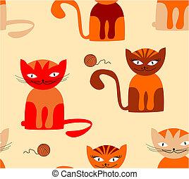 Cat seamless