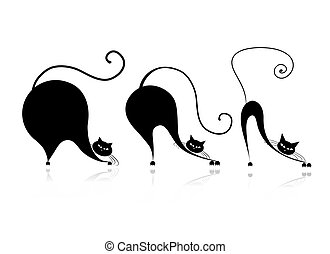 Cat style design - from small to big