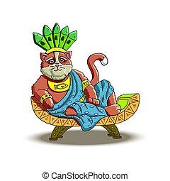 Cat - The Mighty Inca